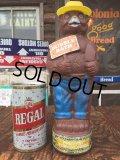 70s Vintage Smokey Bear Bubble Bath Bottle (AL7710)