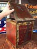 〜30s Vintage Califolnia Cracker Co. C.C.C. Sodas Tin (AL7884)