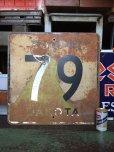 画像1: 60s Vintage Road Sign SOUTH DAKOTA 79 (AL7972) (1)