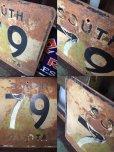 画像2: 60s Vintage Road Sign SOUTH DAKOTA 79 (AL7972) (2)