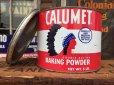 画像1: Vintage Calumet Baking Powder Tin 5lb (AL8583)  (1)