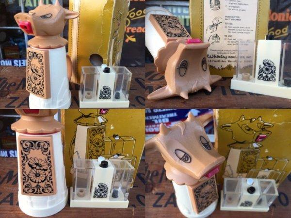 画像3: Vintage Cow Creamer Set (AL8770)