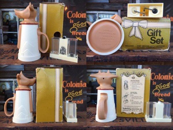 画像2: Vintage Cow Creamer Set (AL8770)