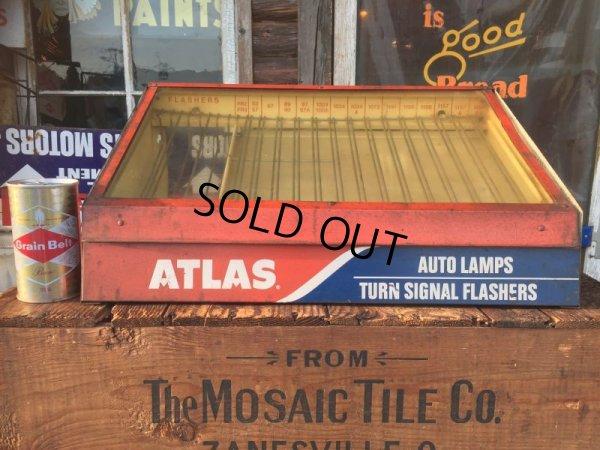 画像1: Vintage ATLAS Auto Lamps Cabinet (AL8766)
