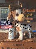 Vintage Cow Plush Doll (AL9678)