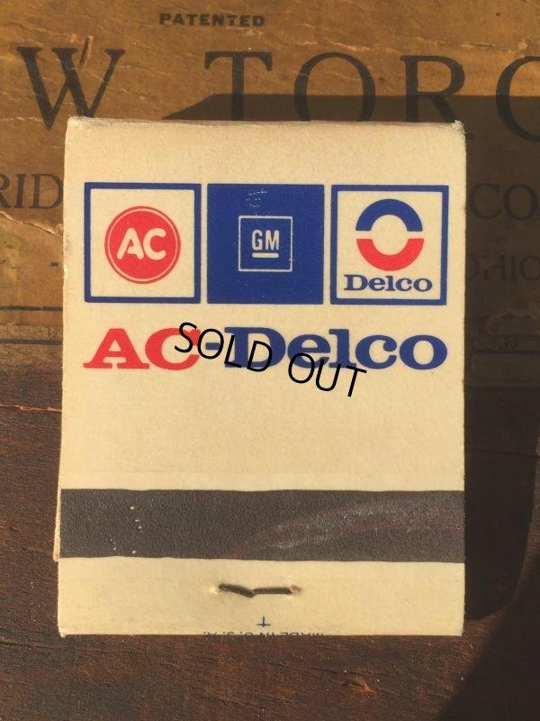 画像1: Vintage Matchbook AC-Delco (MA9849)