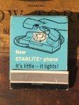 画像1: Vintage Matchbook GENERAL TELEPHONE (MA9824) (1)