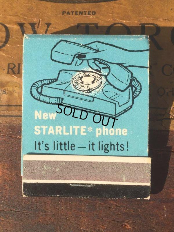画像1: Vintage Matchbook GENERAL TELEPHONE (MA9824)