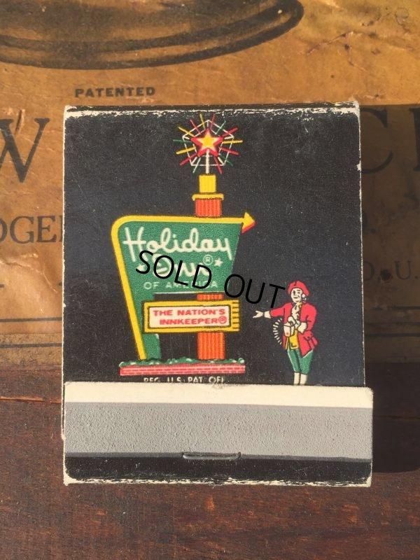 画像1: Vintage Matchbook Holiday Inn (MA9815)