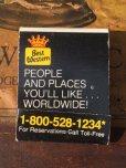 画像1: Vintage Matchbook Best Western (MA9806) (1)