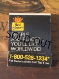 Vintage Matchbook Best Western (MA9806)