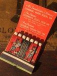 画像1: Vintage Matchbook NORTH WOODS Inn (MA9821) (1)