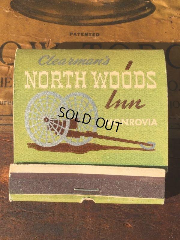 画像2: Vintage Matchbook NORTH WOODS Inn (MA9821)