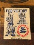画像1: Vintage Matchbook SAFETY-EDGE WAXED PAPER (MA9855) (1)