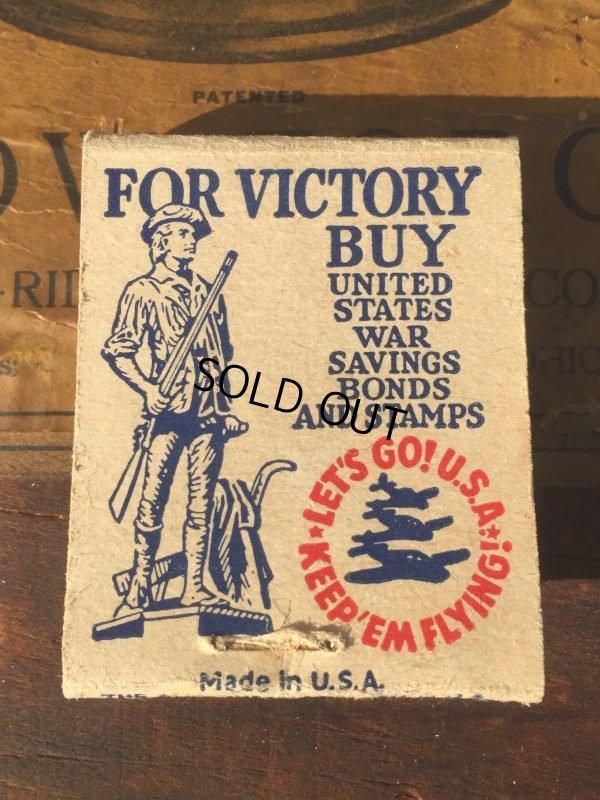 画像1: Vintage Matchbook SAFETY-EDGE WAXED PAPER (MA9855)
