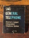 画像2: Vintage Matchbook GENERAL TELEPHONE (MA9824) (2)