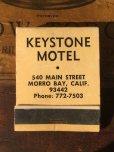 画像1: Vintage Matchbook KEYSTONE MOTEL (MA9852) (1)