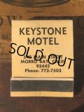 Vintage Matchbook KEYSTONE MOTEL (MA9852)