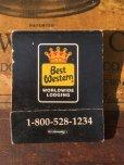 画像1: Vintage Matchbook Best Western (MA9812) (1)