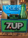 画像1: Vintage Soda 6 Pac bottles Cardboard carrying case 7UP (AL0103) (1)
