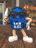 Vintage M&M's Radio Figure Blue (AL0218)