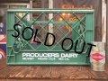 Vintage Producers Dairy Plastic Crate Box (AL0762)