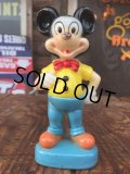 Vintage Gund Disney Mickey Mouse Plastic Toy (AL0990)