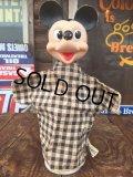 Vintage Gund Disney Mickey Mouse  Puppet Doll (AL0993)