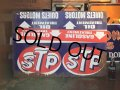 SALE Vintage STP Metal Sign (AL2129)