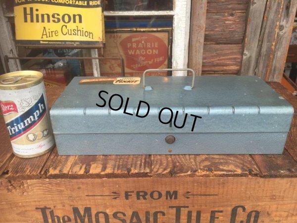画像1: Vintage Black&Decker Handy Electric Fixkit Metal Case Tool Box (AL3166)