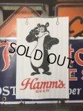 Vintage Hamm's Bear Poster Sign (AL3389)