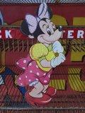 Vintage WDP Cardbord Decoration Minnie Mouse (J011)