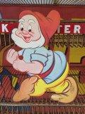 Vintage WDP Cardbord Decoration Happy (J014)