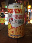 画像1: Vintage Popeye Potato Stick Can (J028) (1)