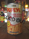 Vintage Popeye Potato Stick Can (J028)