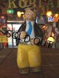 70s Vintage Popeye Wimpy Viniyl Doll (J031)