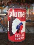 画像1: Vintage Calumet Baking Powder Can 1/2lb (J45)  (1)