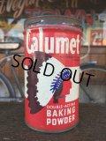 Vintage Calumet Baking Powder Can 1/2lb (J45)