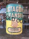 Vintage Octagon Cleanser Can (J41)
