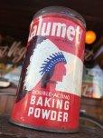 画像7: Vintage Calumet Baking Powder Can 1/2lb (J45)