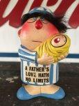 """画像1: Vintage Ceramic Doll """"A FATHER'S LOVE HATH NO LIMITS"""" (J071) (1)"""