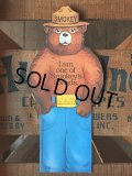60s Vintage Smokey Bear Souvenir Collectible (J082)