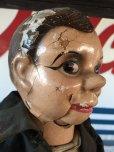 画像2: Vintage Charlie McCarthy Composition Ventriloquist Doll (J086) (2)