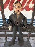 Vintage Charlie McCarthy Composition Ventriloquist Doll (J086)