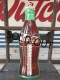 70s Vintage Soda Coca Cola Metal Sign Advertising Thermometer (J093)