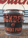 Vintage Bondex Cement Paint Bucket  (J103)