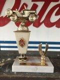 "Vintage Trophy FRESNO 4 W.D. CLUB 3 Rocks 1972 ""3RD"" (J152)"