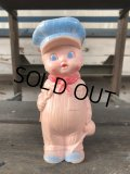 60s Vintage Sun Rubber Doll Engineer (J159)