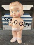 60s Vintage Edward Mobley Squeak Doll Boy & Bear (J158)