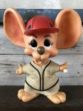 Vintage RDF Mouse Bank Baseball (J172)